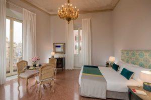 Camere lussuose ed eleganti a Roma