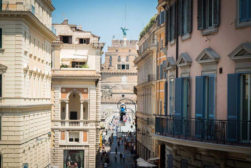 Luxury and elegant rooms in rome