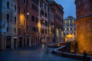 strade, pantheon, roma